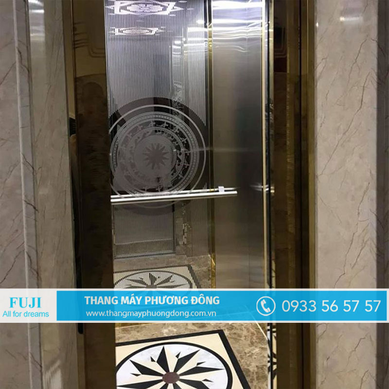 thang máy liên doanh gia đình