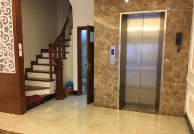 vị trí lắp đặt thang máy gia đình fuji